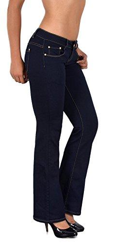 Designs Pantalon Femme Jean Jean tex Basse Jean Taille Bootcut j42 Femme by en AA Typ Actuelles xqn07HwRn
