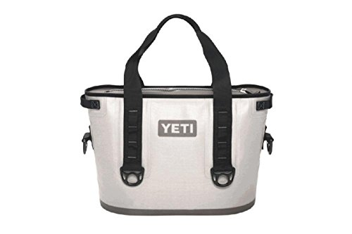 YETI Hopper 20 Portable Cooler Fog Gray / Tahoe Blue