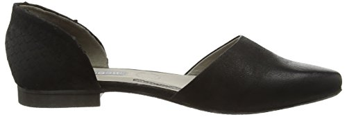 Schwarz 100 Donna V62611g Ballerine Nero Bugatti qF1aqw