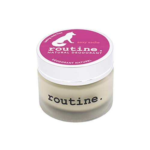 Routine De-Odor-Cream Handcrafted Baking SODA-Free 50ml Natural Deodorant Cream (Sexy Sadie)