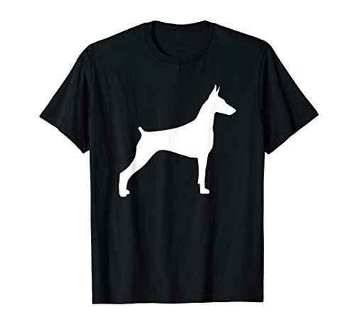 Doberman Silhouette TShirt Pet Dog TShirt