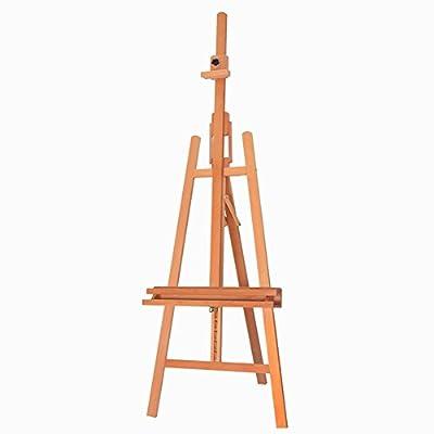 Easels Studio Multifunction Oil Painting Frame Sketch Rack Folding Advertisement Wedding Display Stand Wood Color