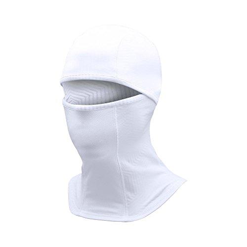 Under Armour Men's ColdGear Infrared Balaclava, White (100)/Graphite, One Size