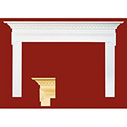 """Mt. Vernon MDF Primed Fireplace Mantel Surround Shelf Length: 36"""" from Forshaw"""