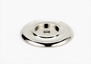 Alno A615-14-PN Classic Traditional Cabinet Recessed Backplate Polished Nickel Alno Cabinet Backplate