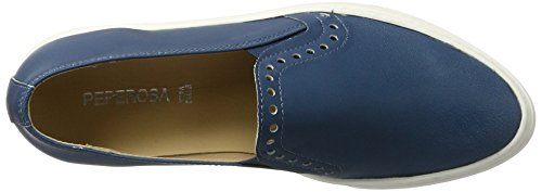Blu Donna Stringate Jeans Derby 102 Jeans Scarpe Peperosa wxqfFOO