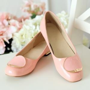 Cordones Zapatos de mujer hexiajia con Planos Material Sintético qBgxtz