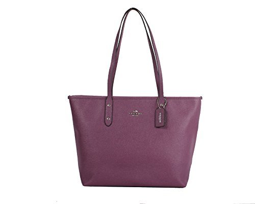 Coach Crossgrain Leather Tote Style: F57522 Mauve