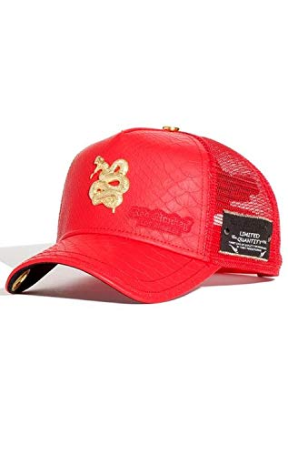 Red Monkey Viper II Red New Unisex Fashion Trucker Cap -