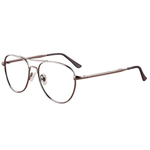 oro 3 0 3 1 Vintage Inlefen 0 5 5 2 moda 5 0 miopía Gafas de 0 5 4 Alambre Gafas para 0 Gris 6 0 5 5 y la para 2 0 miopíaDe 4 1 mujeres Hombres 5 5 Hqq4wYUp