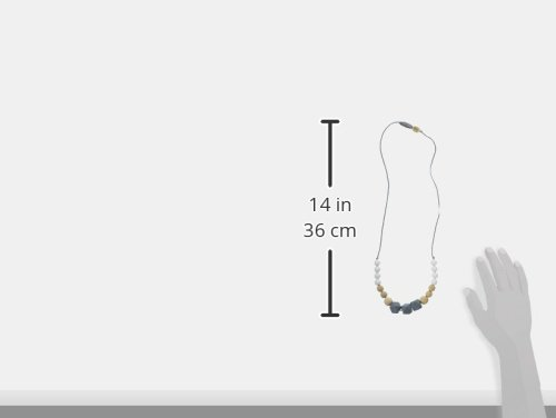 Glitter and Spice Silicone Teething Necklace Gradient Collection Grace STN-GRC10