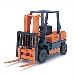 1/23 トヨタ フォークリフト(オレンジ×ブルー) 「ダイヤペット 建機コレクション」 DK-5103