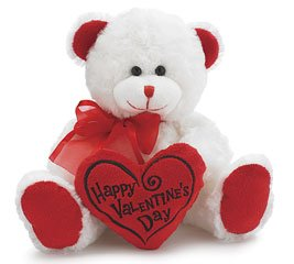 Valentine's Day plush animals - Happy Valentine's Day Bear 8
