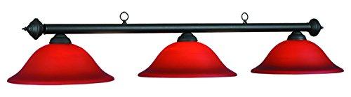 60In. Marseilles Lamp Burgandy