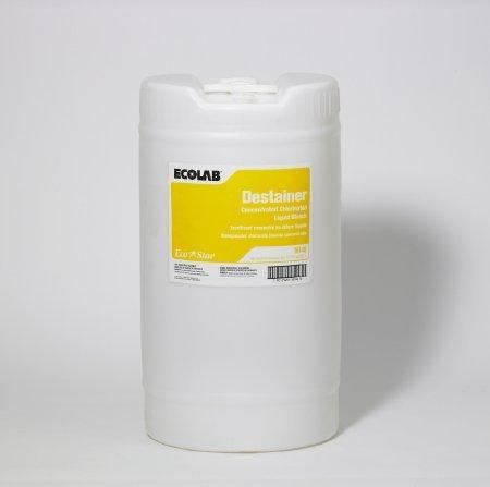 Ecolab 15982 Liquid Laundry Destainer, 5 GAL