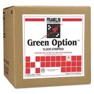 Franklin Cleaning Technology Green Option Floor Stripper, Liquid, 5 gal. Box - -