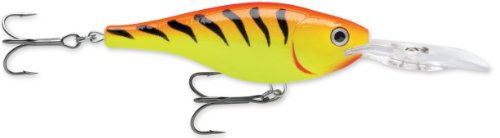 Rapala Shad Rap Rattlin' Suspending 05 Fishing lure, 2-Inch, Hot Tiger