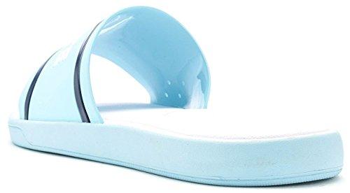 Lacoste L.30 Slide 218 1 Caw Light Blue Navy White Light & Navy Blue zZ9jMJf