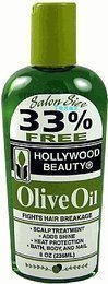 Hollywood Beauty Olive Oil Scalp Treatment - 8Oz Bottle