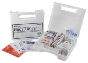 Industrial/Emergency First Aid Kit 25 person