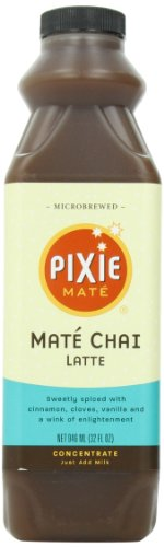 Pixie Mate, Mate Chai Latte, 32-Ounce (Pack of -