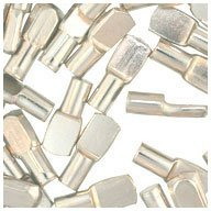 WIDGETCO 1/4'' Nickel Shelf Pins