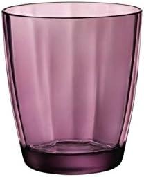 Paquete de 6 unidades Bormioli Rocco Pulsar Vaso Rock Purple Cl 30