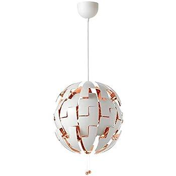 Amazon.com: IKEA PS 2014 – Lámpara de techo, color blanco ...