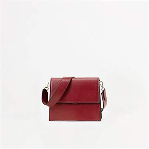 Moda Spalla Bag Boom Red GTMLG Organo Stile Nuovo Ampio Donna Tracolla Crossbody One Brass Mano Borsa A wS04wHq