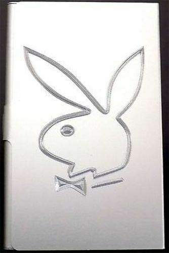 (Playboy Bunny NEW Engraved Business Credit Card Case Patch Holder Gift BUS-0069)