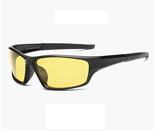 lunettes mode Lunettes de pour UV400 lunettes Yellow Pour vélo de le des Verres hommes air la voyager de en polarisés pour protection plein nocturne vision jaune WAq7aYTq