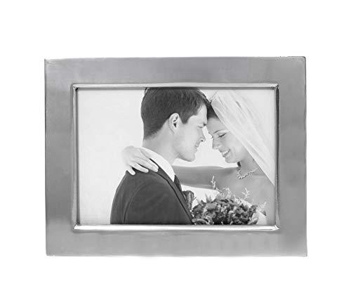 - Arthur Court Designs Aluminum 5x7 Engravable Photo Frame