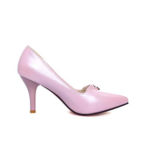 36 EU Rose Femme Sandales Compensées 5 Rose AN DGU00531 qXt8waY