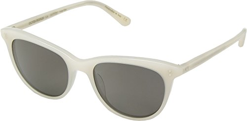 Oliver Peoples Eyewear Women's Jardinette Sunglasses, Ecru/Carbon Grey, One - Oliver Jardinette Peoples Sun