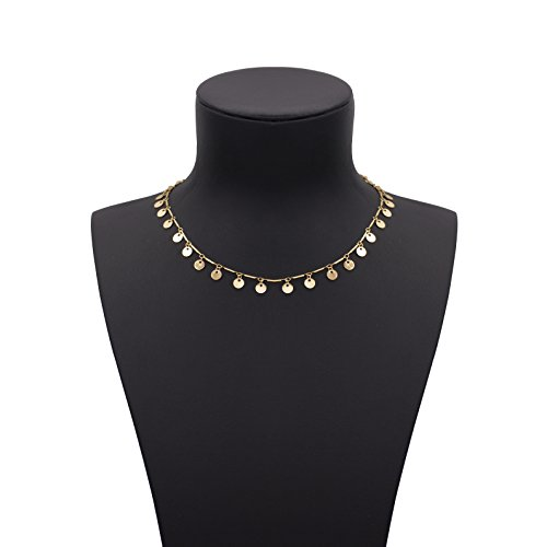 Boosic Chevron Chain Necklace Golden