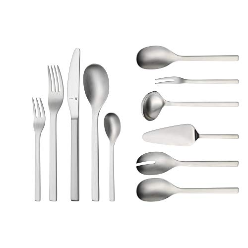 WMF Cutlery Set Linum Cromargan 18/10 Stainless Steel Polished - 66-Piece 12 People