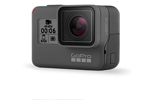 GoPro HERO6 Black - Cámara de acción digital a prueba de agua para viajar con pantalla táctil 4K HD Video 12MP Fotos