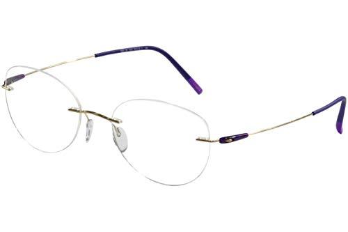 Eyeglasses Silhouette Dynamics Colorwave ( 5500 ) 7530 gold 53/19/140 3 piece fr