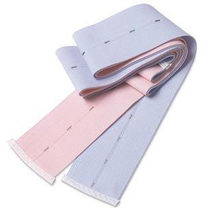Covidien abdominal belts buttonhole abdominal belt, knit elastic