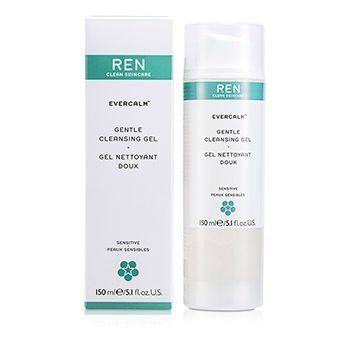 Gentle Foaming Cleansing Gel - New 2007 products Ren Evercalm Gentle Cleansing Gel (For Sensitive Skin) -150ml/5.1oz