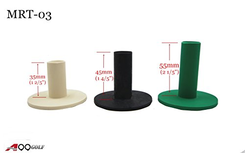 A99 Golf Rubber Tees Mixed Color with 3 Different Size