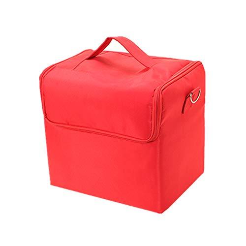 詩報復仕方化粧オーガナイザーバッグ 純粋な色のカジュアルポータ??ブル化粧品バッグ美容メイクアップとトラベルで旅行 化粧品ケース