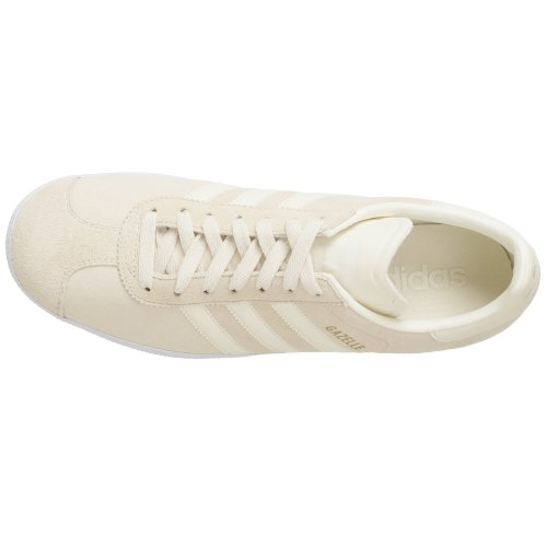Adidas Originali Mens Gazelle 2 Sneaker Ecru / Ecru / Legacy