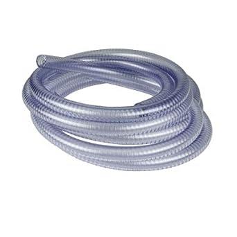 "Clear PVC Vinyl Flexible Vacuum Line Tubing Hose Milk 3m//10ft 1//2/""ID 3//4/""OD"