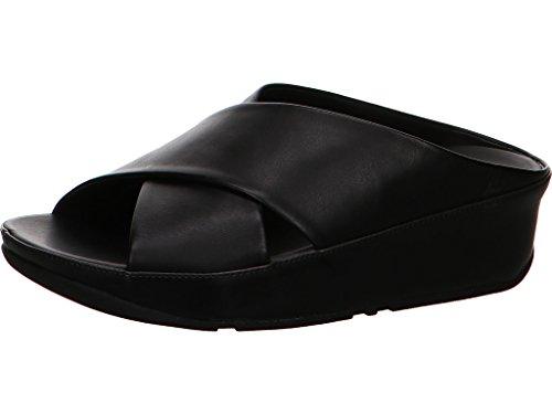 Kys Fitflop Slide Sandalias Negro Black