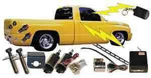 - Chassis Tech 2 Door LBS Shaved Door KIT Handle Popper Solenoid Remote