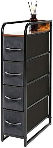 Kamiler 4-Drawer Narrow Dresser Storage Vertical