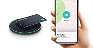 SAFEDOME RECHARGE – Bluetooth Rechargeable Tracking Card. Easily Find Your Lost Wallet, Bag, Phone, Backpack. Place Into Your Wallet or Purse. Wireless Charger Works With Compatible Phones And Watches.