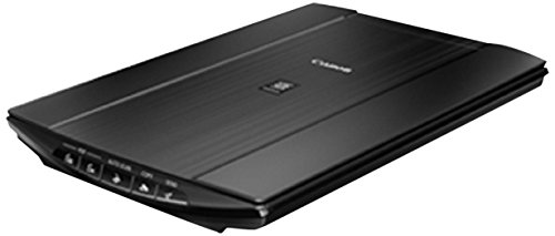 Canon Lide 220 Scanner (A4-Flachbett, CIS Sensor, 4.800 x 4.800 dpi, USB-Stromversorgung) schwarz