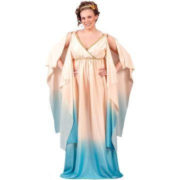 Women's Plus Size Halloween Costume Ideas (Greek Goddess Plus Size Adult Costume - Plus Size 1X/2X)